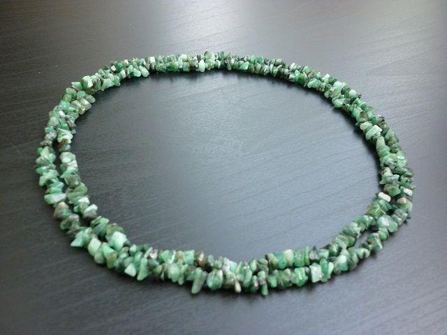 Smaragd náhrdelník 90 cm č.1