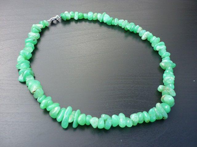 Chryzopras náhrdelník č.1