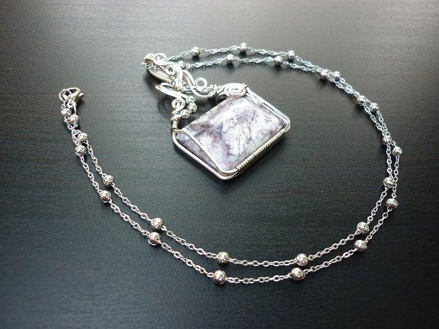 Tiffany stone šperk č.1