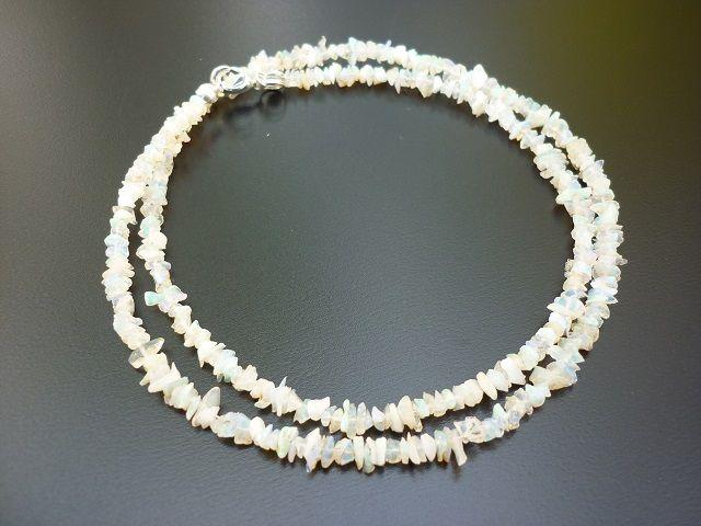 Opál drahý náhrdelník 45 cm