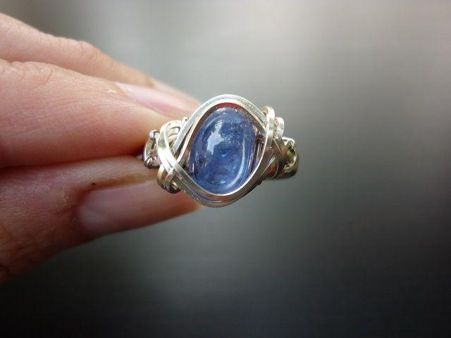 Tanzanit prsten č.1