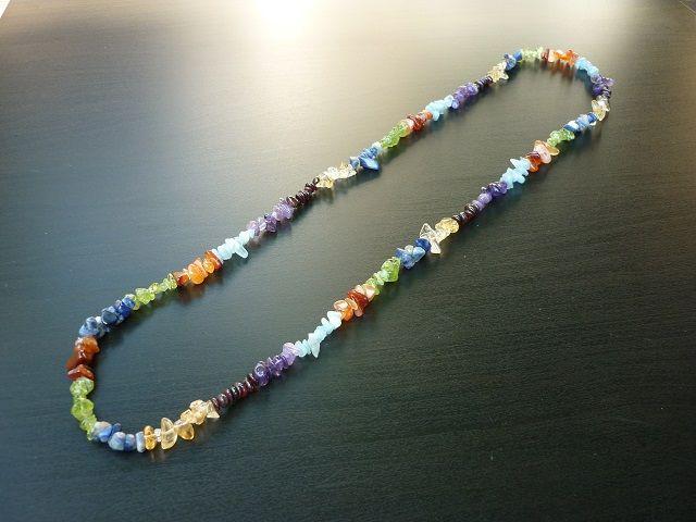 Čakrový náhrdelník dlouhý