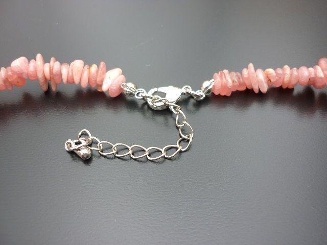 Rodochrozit náhrdelník 45 cm