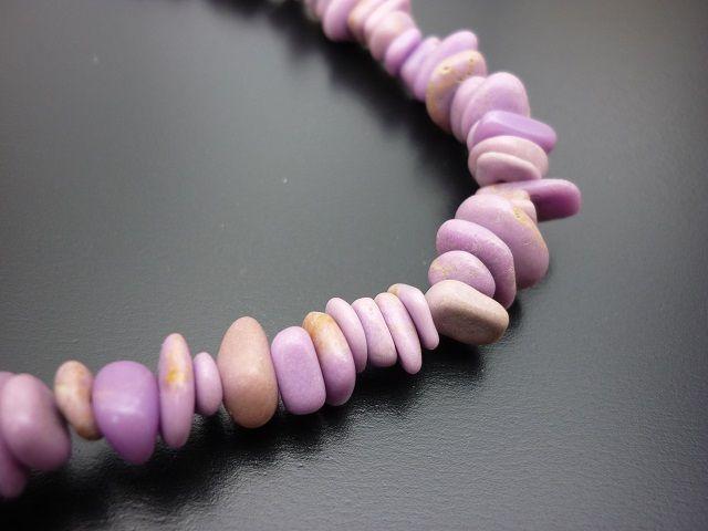 Thulit náhrdelník 45 cm