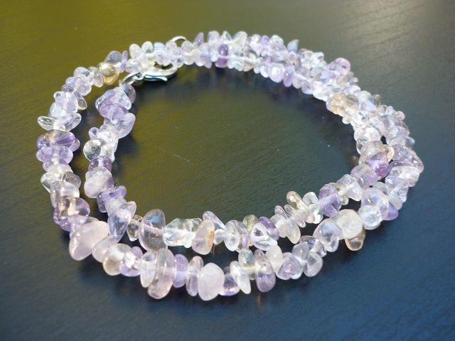 Ametrín náhrdelník 45 cm