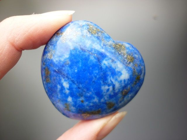 Lapis lazuli srdce č.1