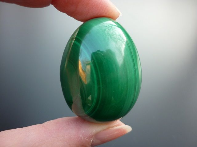 Malachit vejce č.1