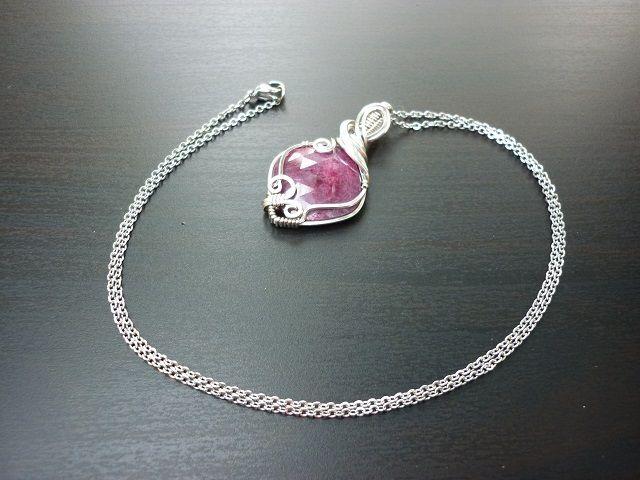 Rubín šperk č.1