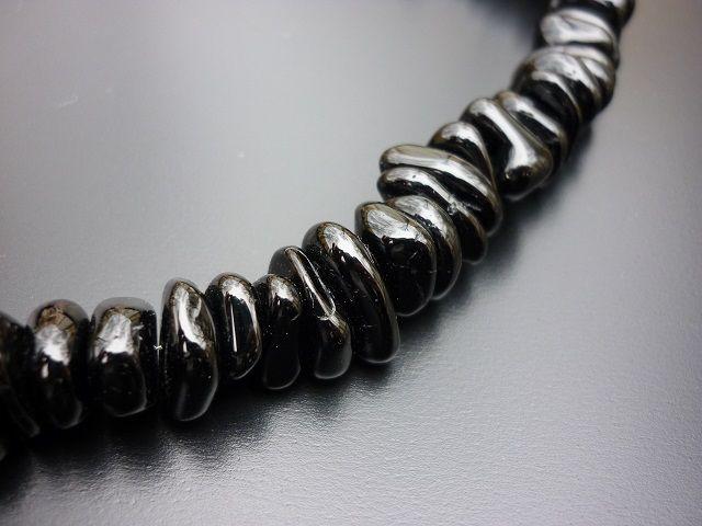 Turmalín skoryl náhrdelník nugety
