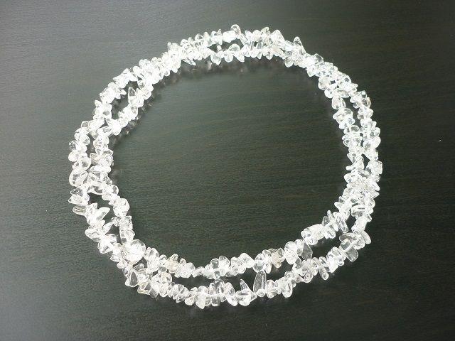 Křišťál náhrdelník dlouhý