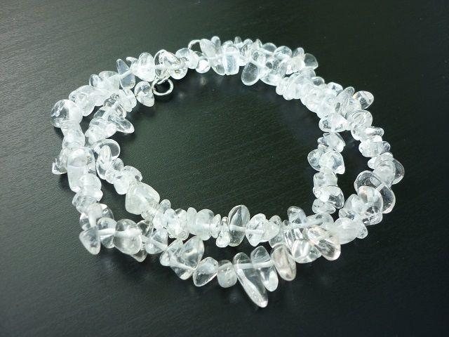Křišťál náhrdelník 45 cm