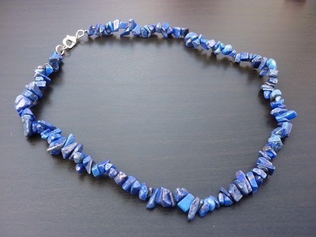 Lapis lazuli náhrdelník 45 cm