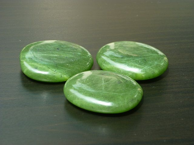 Jadeit nefrit placička