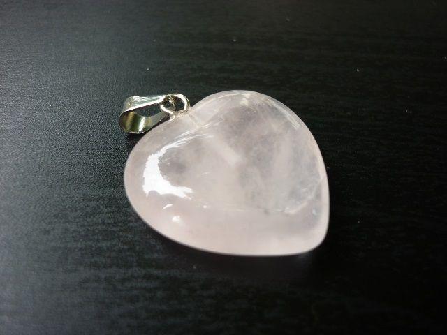 Růženín přívěsek srdce 20 mm